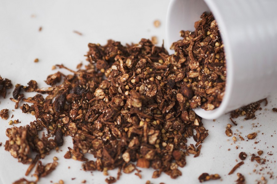 Chocolate Buckwheat Superfood Granola
