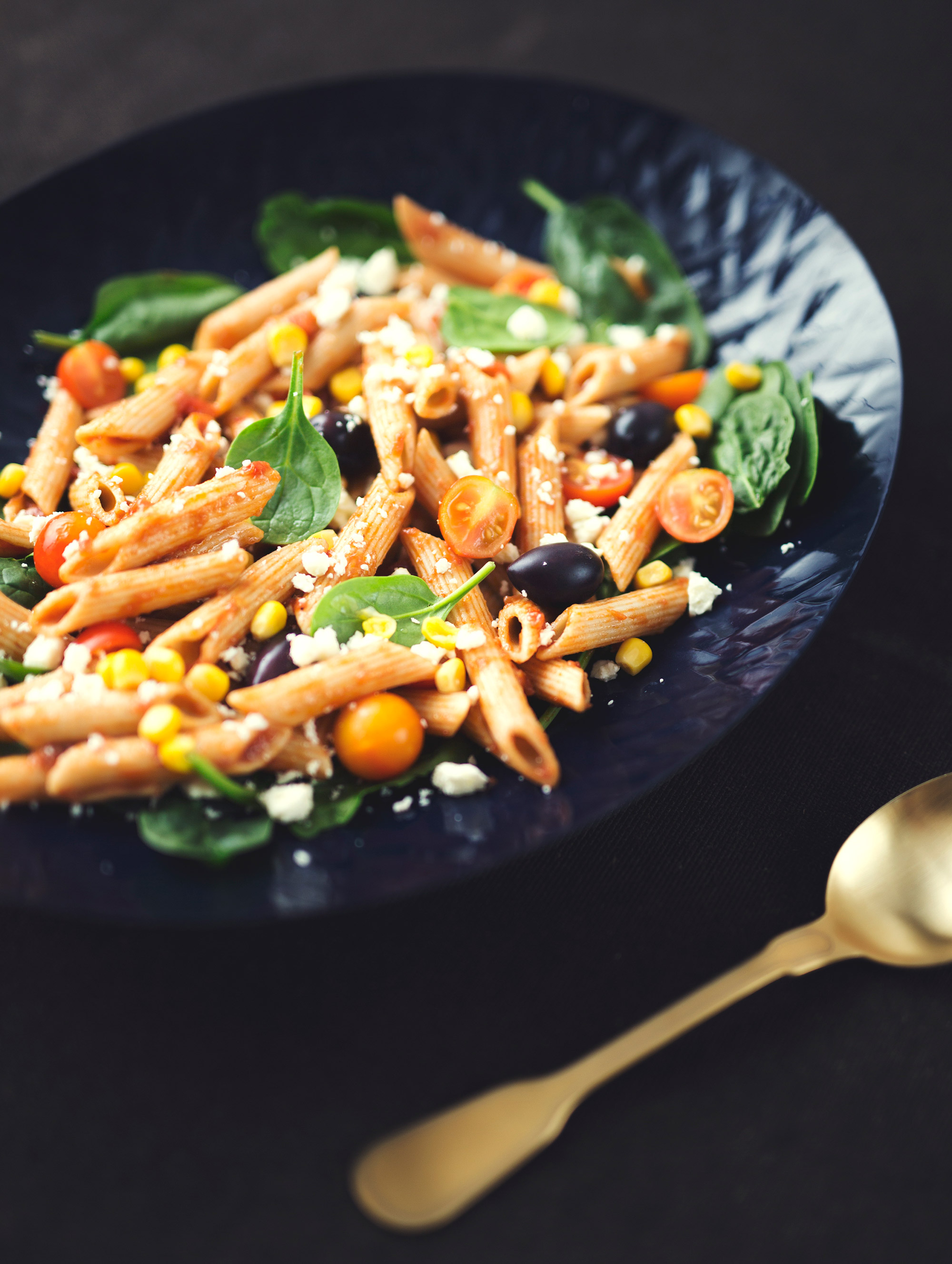 Tomato & Balsamic Wholemeal Pasta Salad