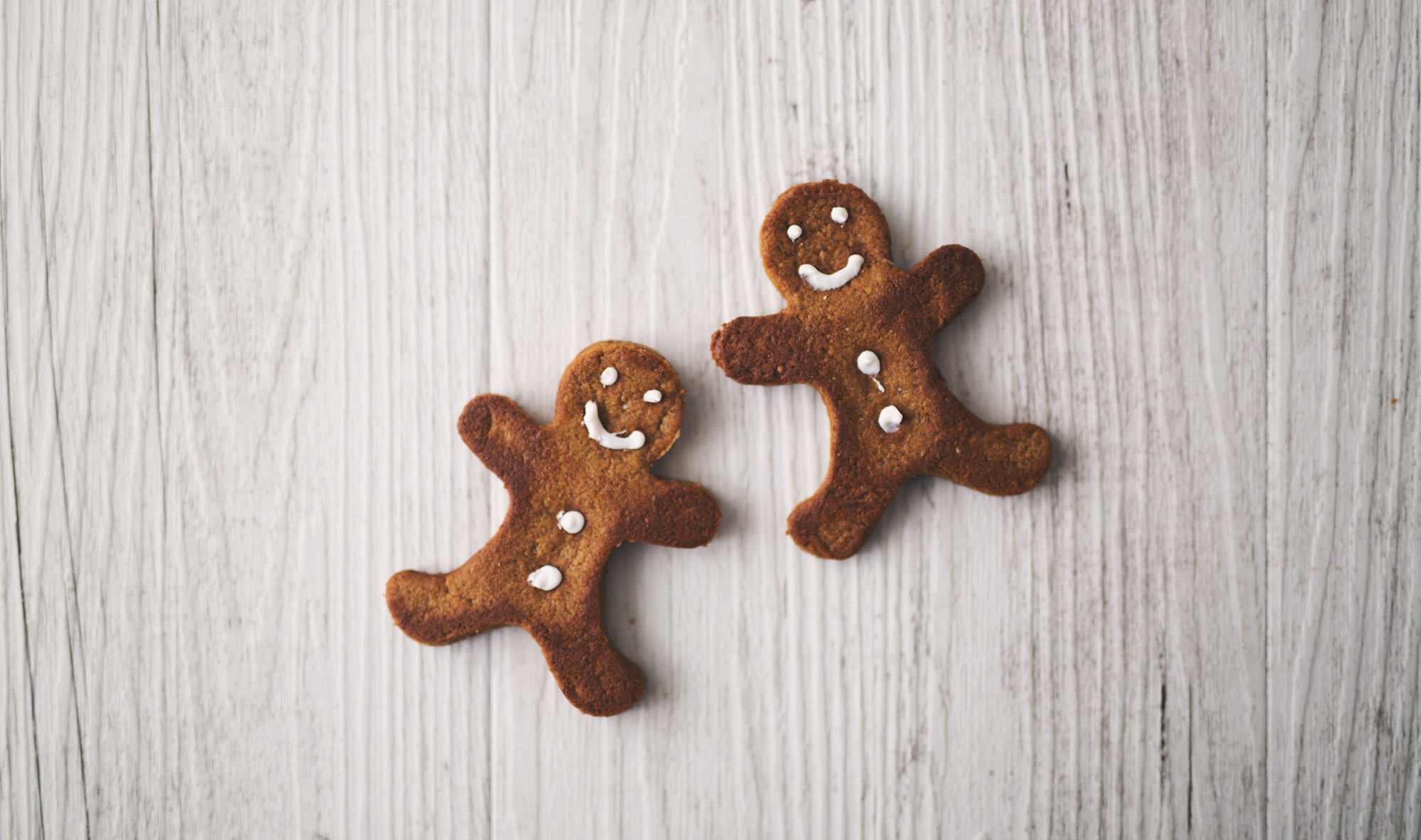 Healthy Wholemeal Spelt Gingerbread Men (Vegan)