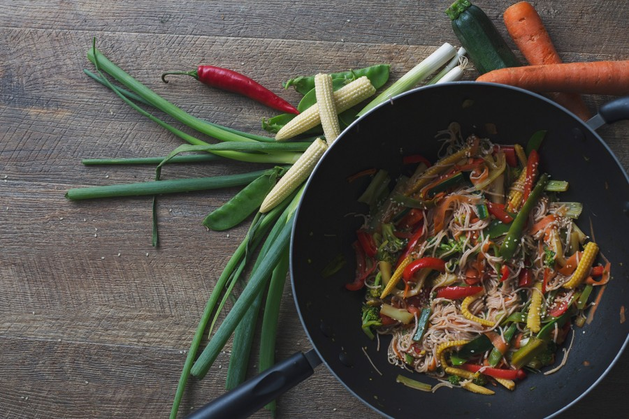 Cambodian Inspired Vegetable Stirfry
