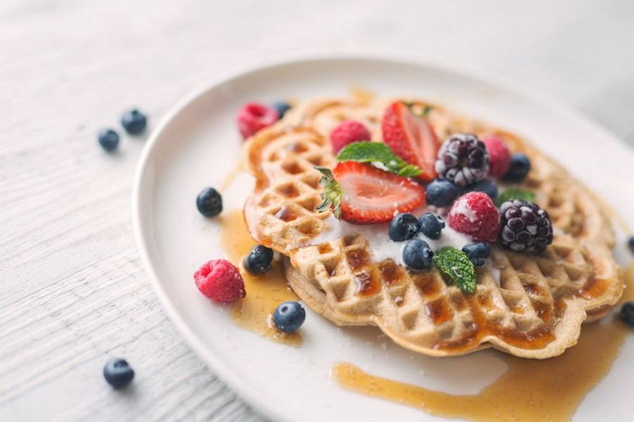Vegan Banana Buckwheat Pancake and Waffle Recipe
