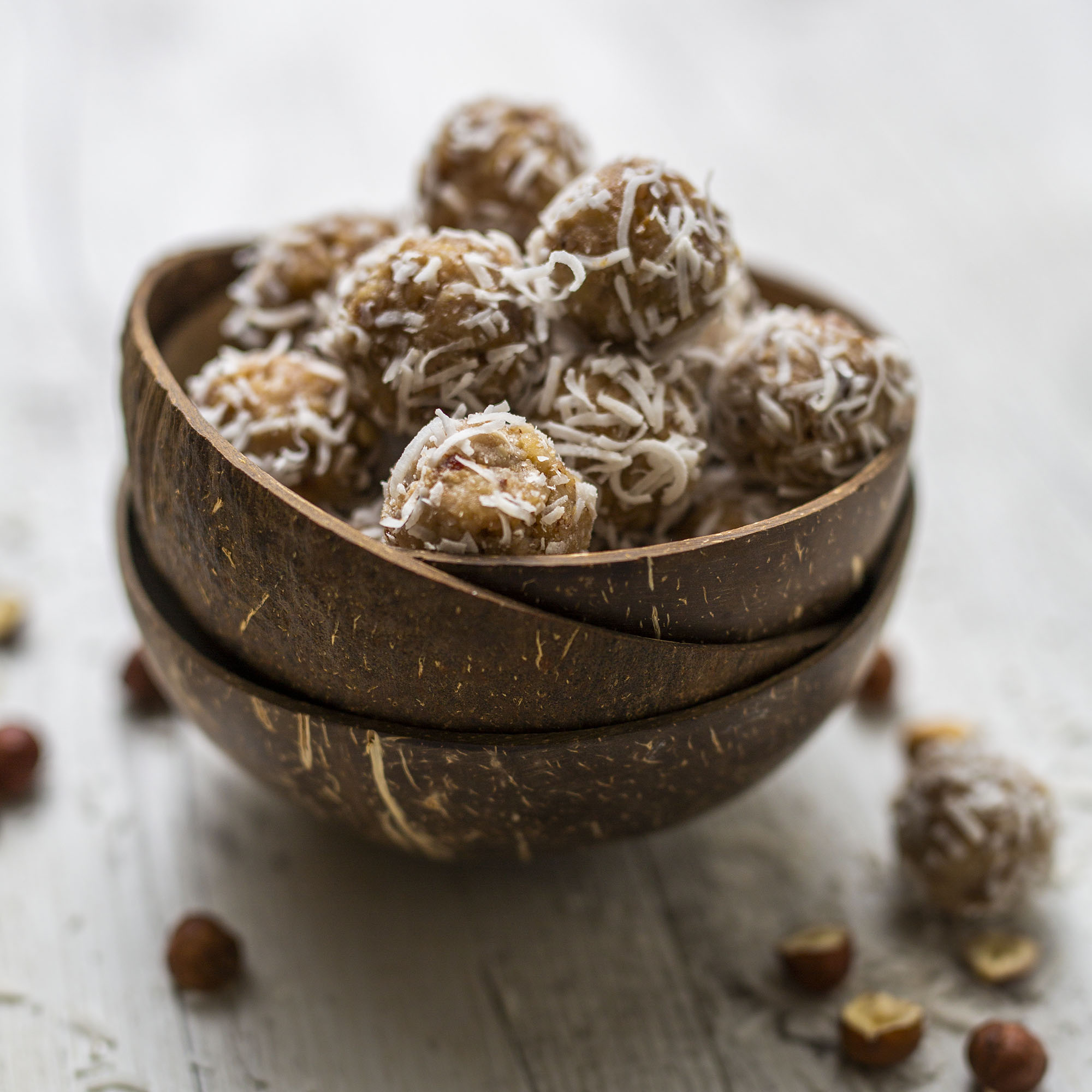 Raw Vegan Raffaello Bliss Ball Truffles