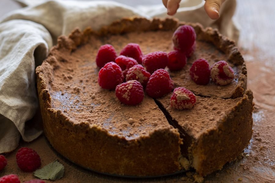Vegan Chocolate Cream Torte