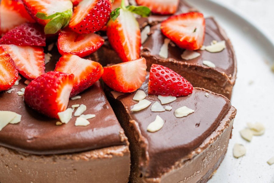 Vega No Bake Chocolate Mousse Cake