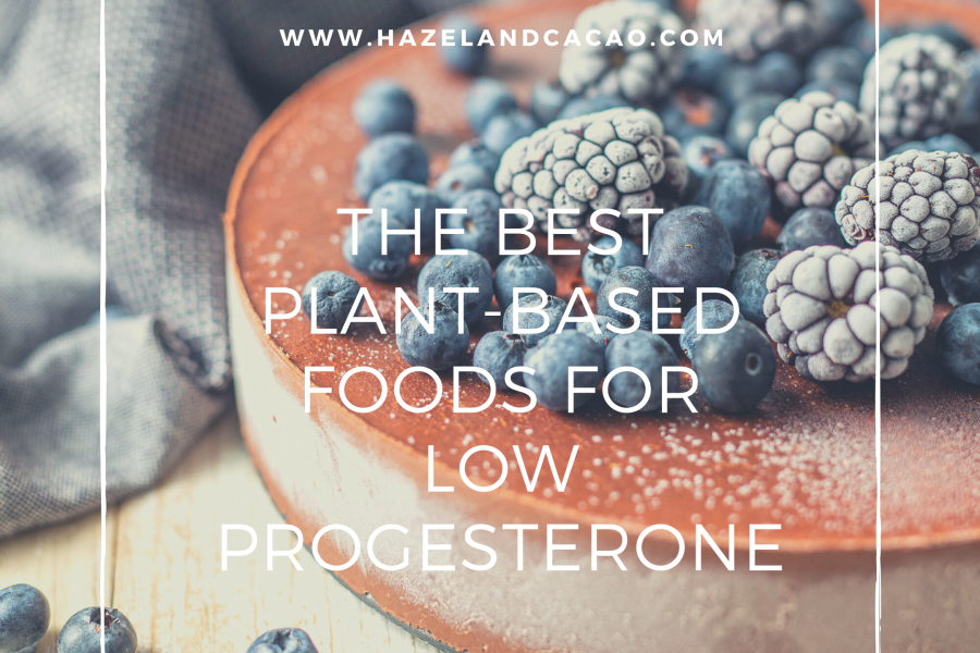 The Best Plant-based Foods for Low Progesterone